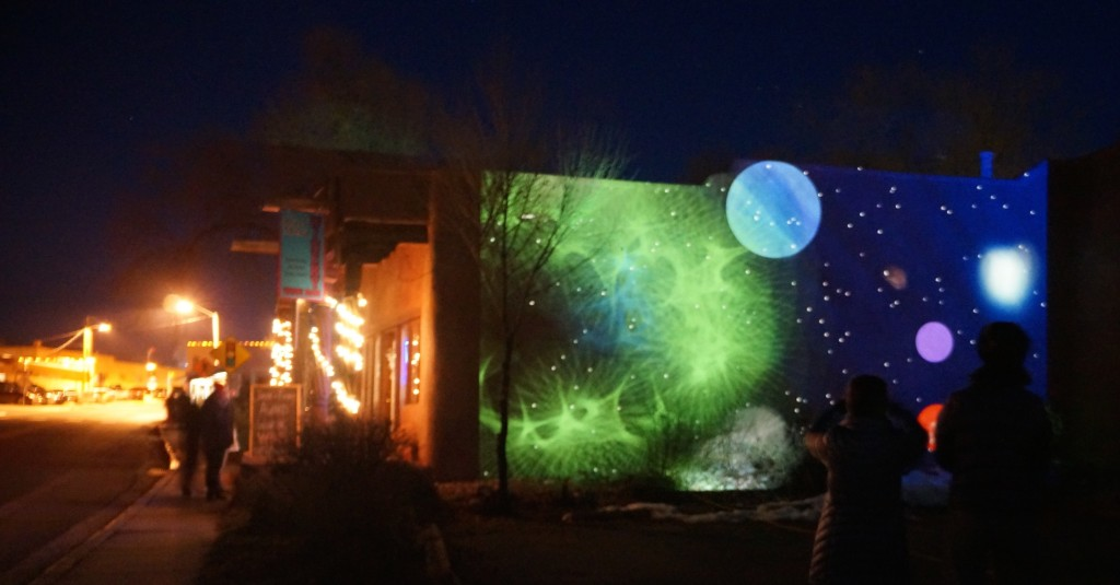 Projecting Particles @ The Harwood